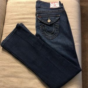 True Religion Blue Denim Jeans Size 31